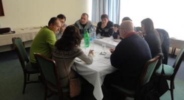 Workshop for developing interventions on regional level, Stip, 25-27 of January 2012