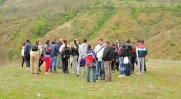 Посета на Обожна од студентите на Шумарски факултет